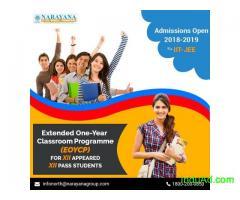 One year Integrated Classrom Programme in Narayana Academy,Surat