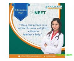 Admissions open for NEET in Narayana Academy,Chandigarh