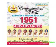 Narayana Dominates once again in JEE Main