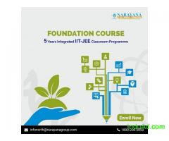 Admissions open for IIT-JEE/NEET/Foundation Courses in Narayana Academy,Surat