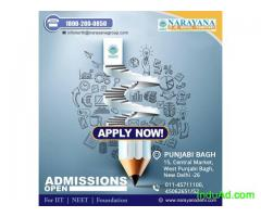 Admissions open for IIT-JEE/NEET/Foundation Courses in Narayana Academy,New Delhi
