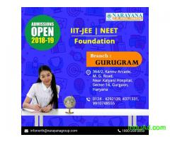 Admissions open for IIT-JEE/NEET/Foundation Courses in Narayana Academy,Gurgaon