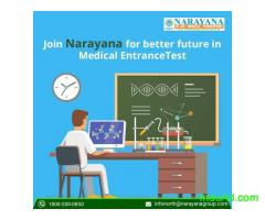 Admissions open for NEET in Narayana Academy,Faridabad
