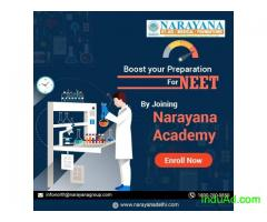 Admissions open for NEET Course in Narayana Academy,Faridabad