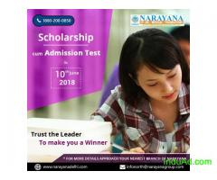 Scholarship cum Admission test for NEET,IIT-JEE,Foundation courses