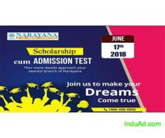 Scholarship cum Admission test for Foundation,IIT-JEE,NEET course at Narayana Academy,Dhanbad
