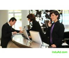 Receptionist in IT Industry