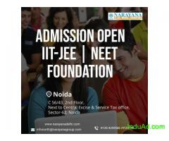 Admissions open at Narayana for Foundation,NEET and IITJEE Courses