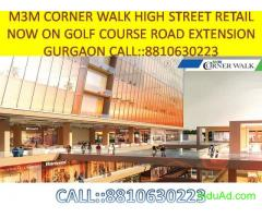 m3m corner walk gurgaon call now :: 8810630223