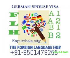 Join German classes for spouse visa kapurthala
