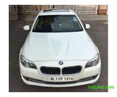 BMW 520d luxury line 2012,white color, DL Reg, 60k kms, 1st owner