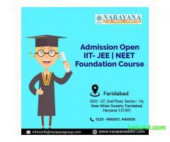 IIT JEE NEET Admissions Now Open at  NarayanaAcademy Faridabad