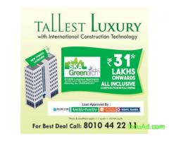 Buy Flats for sale in Noida Extension-SKA Greenarch