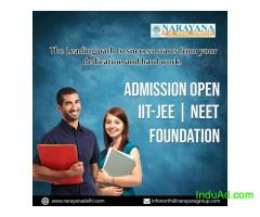Admissions are now open for  IITJEE,NEET and Foundation Courses