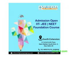 IIT JEE NEET Admissions Now Open at  NarayanaAcademy South Extension