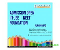 Admissions are now open for Foundation,IITJEE and NEET Courses