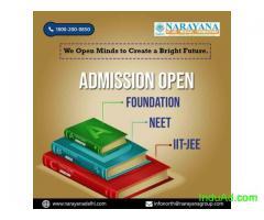 IIT JEE NEET Admissions Now Open at  NarayanaAcademy Surat