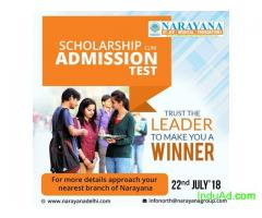 Scholarship cum Admissions test at  NarayanaAcademy Janakpuri