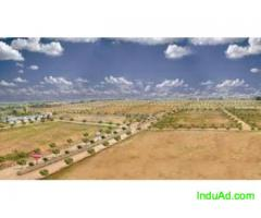 East Facing, 2000 Sq.Yds, Open gated community corner plot, near Kadthal