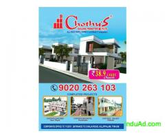 Villas&interiors in Trivandrum 9037317017