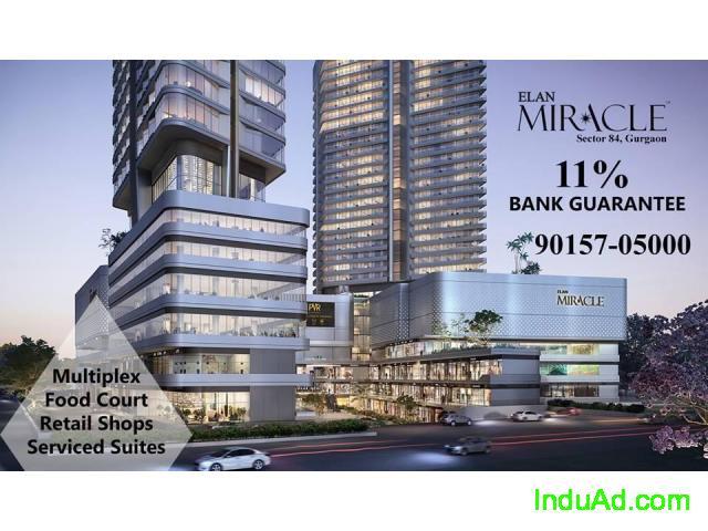 Elan Miracle Retail Shops Multiplex Sector 84 Gurgaon +91-90157-05000