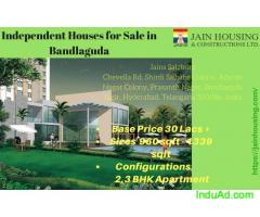 Independent house for sale in Bandlaguda