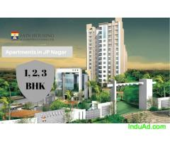 1 bhk flats for sale in JP Nagar Bangalore