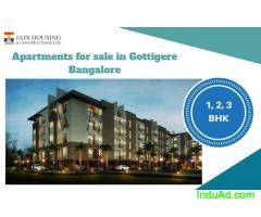 Apartments for sale in Gottigere Bangalore