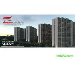 Sobha Dream Gardens 1 bhk and 2 bhk apartments for sale in Thanisandra  North Bangalore