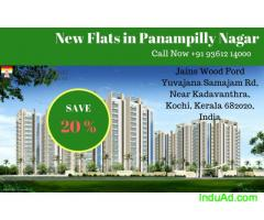1 bhk 2 bhk 3 BHK Apartments for Sale in Panampilly Nagar