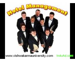 Online Diploma in Hotel Management- Vishwakarma University for Self Employmenet, India- 9810252209