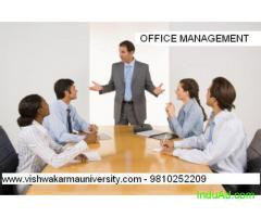 ONLINE DIPLOMA IN OFFICE MANAGEMENT - 9810252209 VISHWAKARMA UNIVERSITY FOR SELF EMPLOYMENT, INDIA