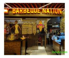 Barbeque Nation is an Indian restaurant chain owned by Barbeque Nation Hospitality Ltd.