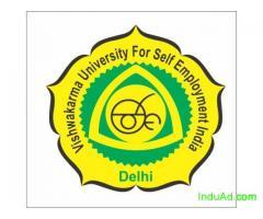 Diploma Courses From Vishwakarma University For Self Employment, India