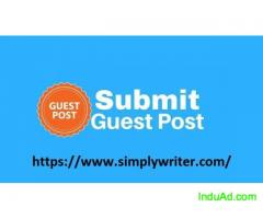 Free Guest Posting on Every Niche at Simply Writer