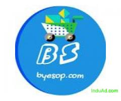 byesop is socail makarting site for shop