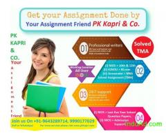 Solved assignment Get NIOS, IGNOU, ANNAMALAI UNIVERSITY Assignment