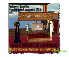 help, Get Solved Assignment (TMA) of NIOS, IGNOU, ANNAMALAI UNIVERSITY For Class 10th, 12th,