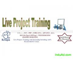 IT Software Training with Live project