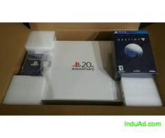 NEW Sony Playstation 4 PS4 20th Anniversary Console +NEW Destiny Limited Edition