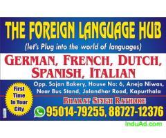 German A1 visa  classes at FLH kapurthala