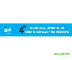 4Th International Conference on Trends in Technology and Engineering -ICTTE'17