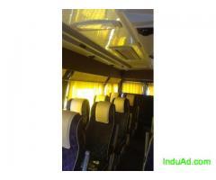20 Seater AC Mini Bus on Rent from Mumbai to Shirdi