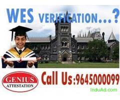 WES verifiaction for canada