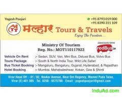 Vasai to Mangalore,Virar to Mangalore Bus Ticket Booking