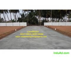 Dtcp approved residential plot sale at sulur