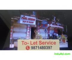 1/2/3 bhk flat for rent furnished or semi furnished