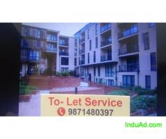 1 bhk flat in the apartment for rent chattarpur