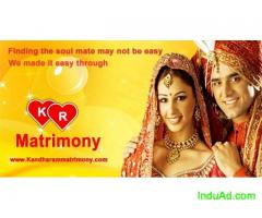 kandharamMatrimony.com - Find lakhs of Brides and Grooms on kandharamm