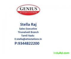 GENIUS ATTESTATION IN MADURAI